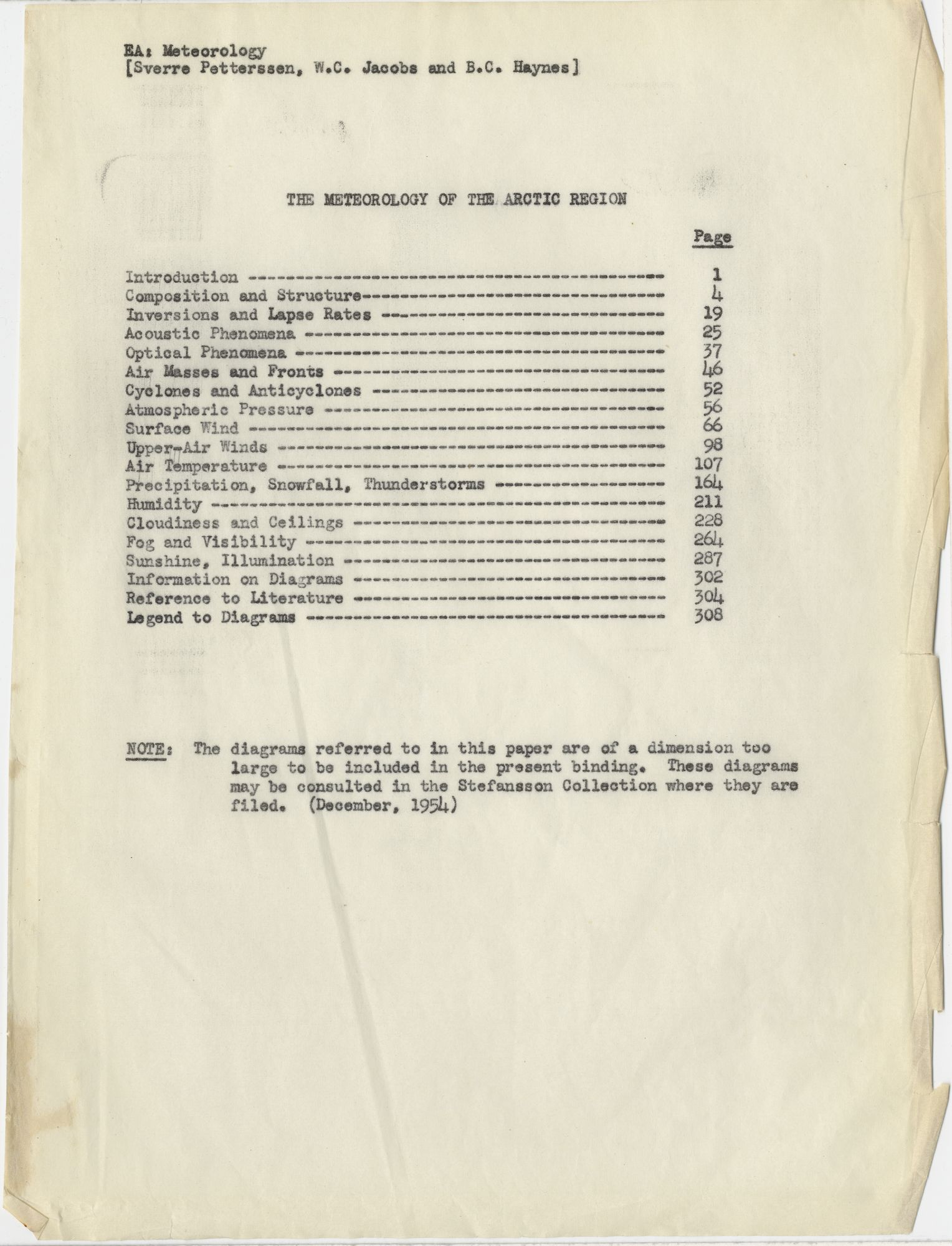 The Meteorology Of Arctic Region Encyclopedia Arctica 7 Polar 4 Stroke Engine Diagram And Oceanography